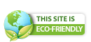 Green website badge: Hosted with renewable energy sources